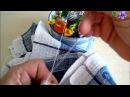 Как сделать воздушную петельку для крепления кухонного полотенца - бабушкин лайф хак