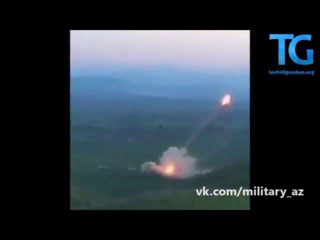Azerbaycan Ermenistan bölgelerini grad füzeleri ile vuruyor - Tevhidigündem