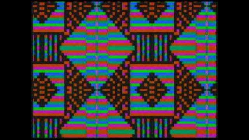 Cellular Automata Video Synth Korg Entrancer 1