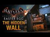 Batman Arkham Knight Easter Egg - The Hidden Wall in Wayne Manor
