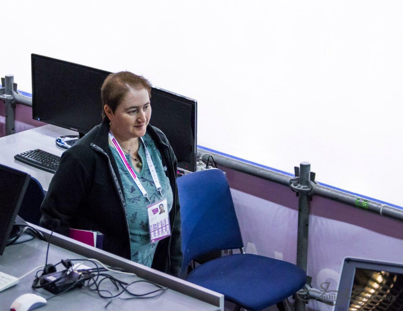 Татьяна Фладе / Tatjana Flade / Пресс-атташе ISU GmX4Ul29TOY
