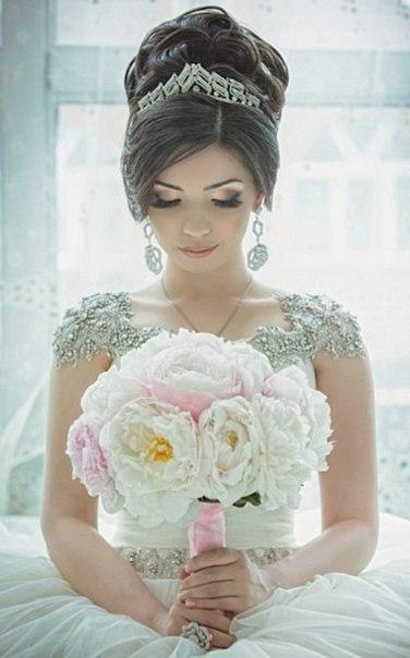актуальные свадебные прически в дагестане