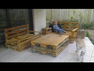 Мир поделок и самоделок идеи для дачи и сада из деревянных поддонов своими руками