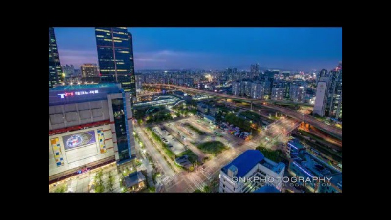 2016 신도림 야경 타임랩스 (Sindorim Nightscape Time Lapse) 4K UHD