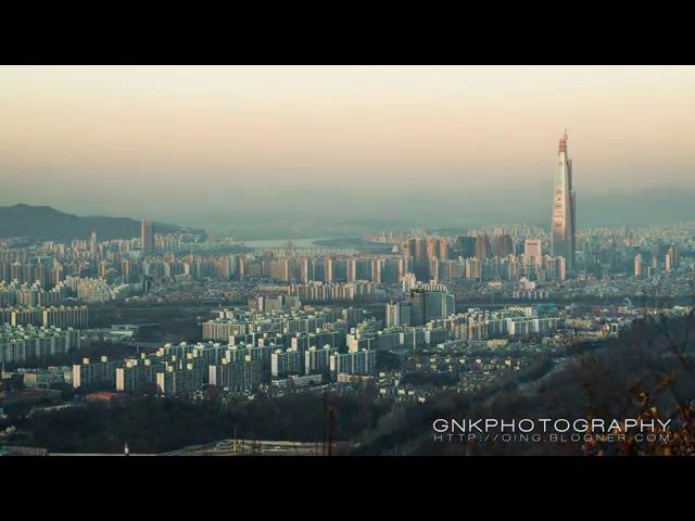 2016 제2롯데월드 야경 타임랩스 (Lotte Tower Timelapse) 4K UHD