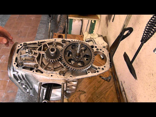 Установка шестерней к\в,ГРМ,мас/насоса на двигатель Мотоцикла ДНЕПР МТ !!