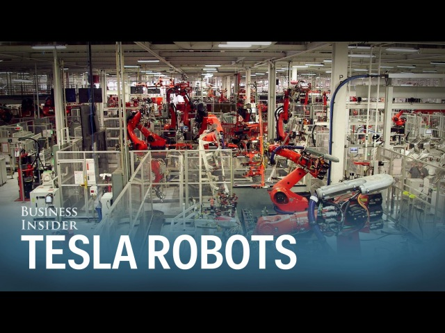 Meet 'Iceman' and 'Wolverine' the 2 coolest robots in Tesla's factory