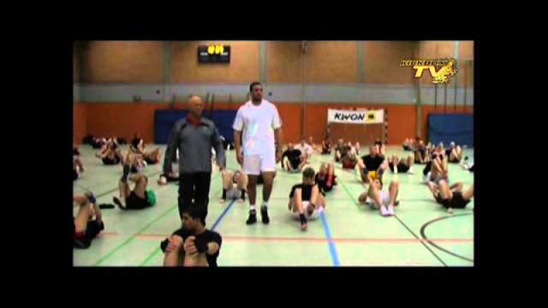 Badr Hari seminar Part 7 7 Kickboxing