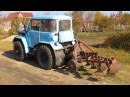 Самодельный трактор. Украина