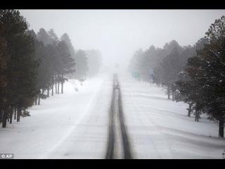 Alex-Дальнобой США...FLAGSTAFF,AZ.. I-40..USA..скоро зима...