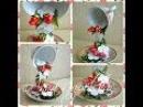 Чашка добробуту Полуниця з вершками канзаши Парящая чашка Клубника со сливками своими руками
