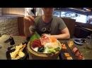 Славный Обзор. Дорогущие суши в Тайланде. Профукали 6000 и не заметили.