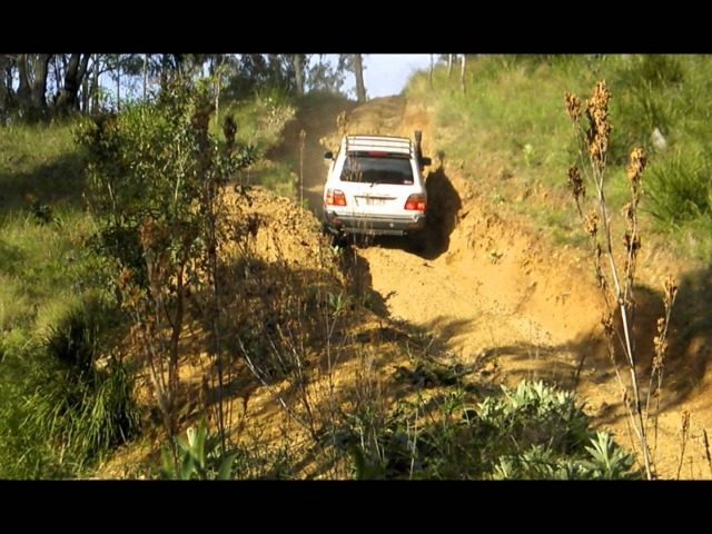 Toyota Land Cruiser 105 Arb Diff Lock Testing. Can your 4x4 do this?