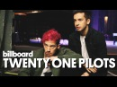 Twenty One Pilots Behind the Scenes Billboard Cover