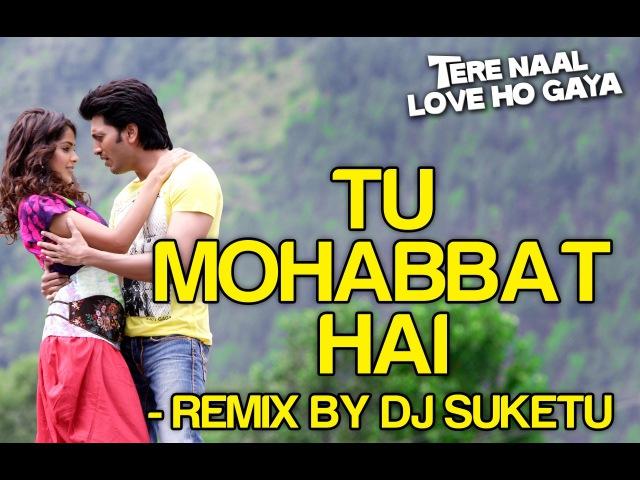 Tu Mohabbat Hai Remix Video Song Tere Naal Love Ho Gaya Riteish Genelia Atif Aslam