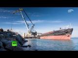 Подготовительные работы к строительству Керченского моста