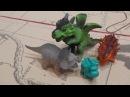 8 марта. Мультфильм про динозавров на русском языке Мультики для детей динозавры Динозаврики Игрушки