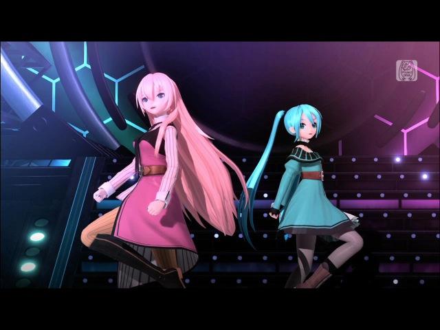 【初音ミク・巡音ルカ】アカツキアライヴァル【Project DIVA Future Tone】追加演出