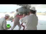 Подготовка российских самолетов к боевым вылетам на авиабазе Хмеймим
