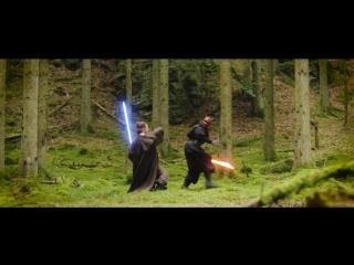 Фанатский фильм по Звездным Войнам. Сражение на световых мечах.