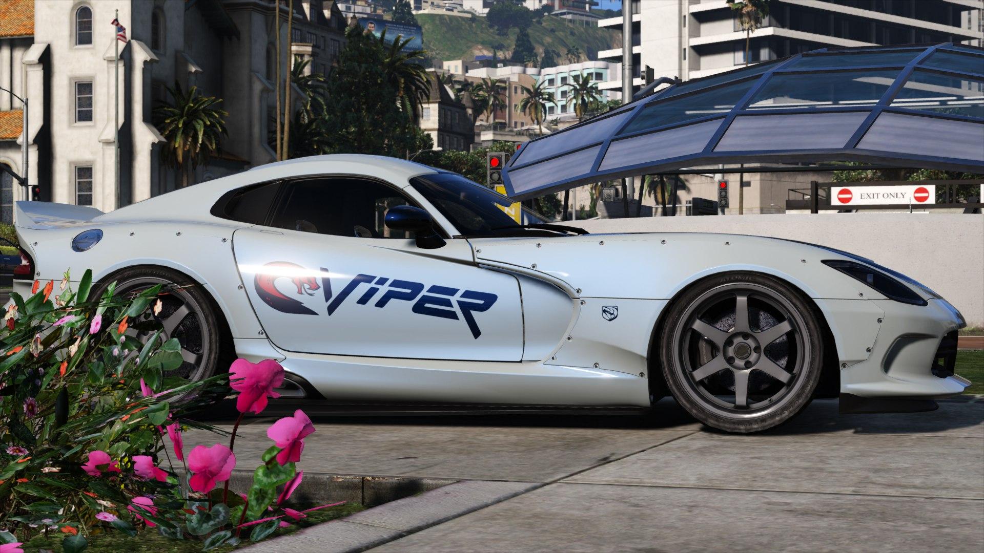 Dodge Viper gta5 2016