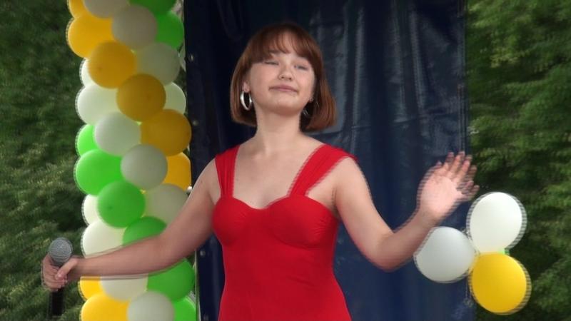 Аня Скворцова 12 лет занимается вокалом с нуля полтора месяца