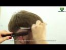 Мужская стрижка. Современный стиль. ✮ Mens Haircut Tutorial парикмахер тв parik