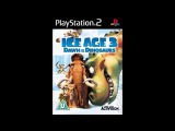 Ice Age 3 Dawn of the Dinosaurs Game Music - Level 19 Skeleton Bridge