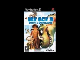 Ice Age 3 Dawn of the Dinosaurs Game Music - Level 4 Lonesome Sloth (Part 2)