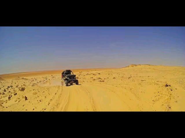 Вглубь Сахары на мотовездеходах CFMOTO Z8 EFI