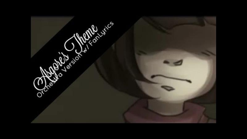 Jenny Undertale OST Asgore's Theme w FanLyrics