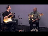 Nathan East &amp Paul Gilbert - Blues Jam in Key of A