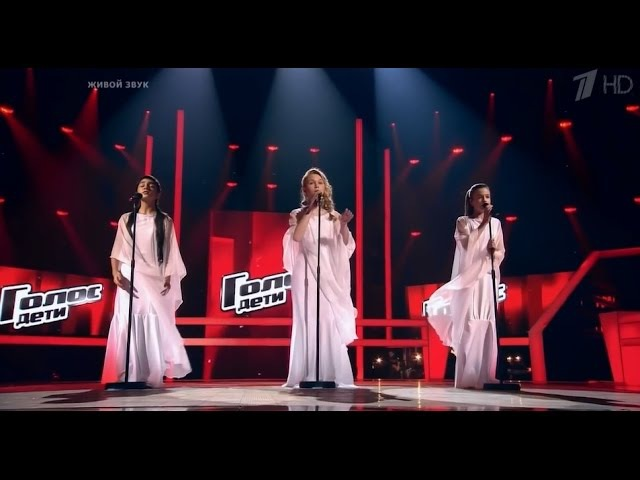 Song of the Birds - amazing battle - the voice kids russia - Milana,Alina,Maria