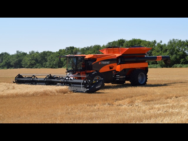 New Tribine Combine The Future of Harvesting is Now Trekkerweb