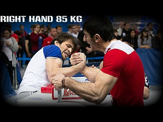 RUSSIAN ARMWRESTLING CHAMPIONSHIP 2013#腕相撲#팔씨름 RIGHT 85KG