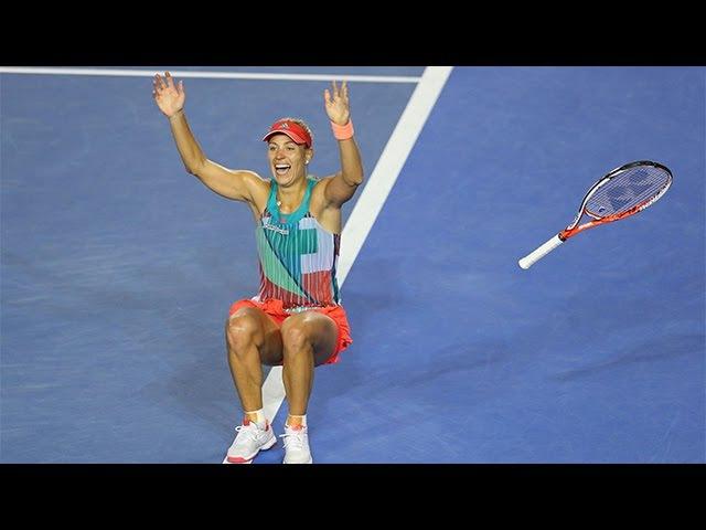 Match point: The moment Angelique Kerber won the Aus Open | Australian Open 2016 » Freewka.com - Смотреть онлайн в хорощем качестве