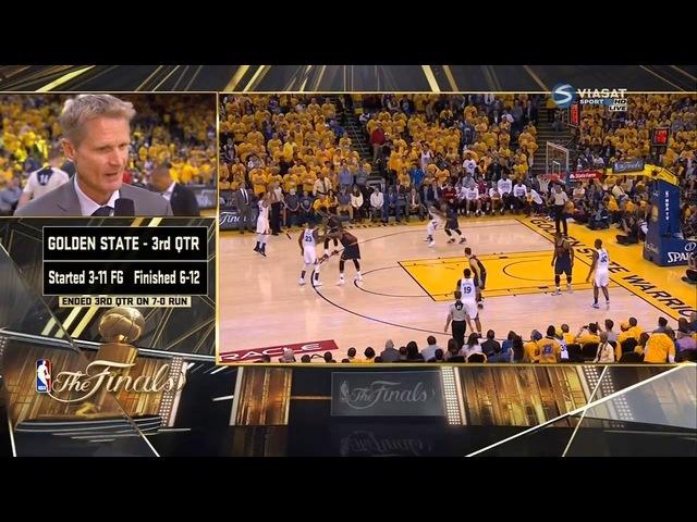 NBA 2016- Final - Cleveland Cavaliers - Golden State Warriors - game 1 ( Кливленд - ГСВ -1 - Финал )