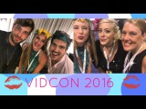 HANGING OUT WITH JOEY GRACEFFA, DANIEL, AND HOPE! Vidcon 2016