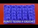 Punto tejido a crochet 9 para bufandas y cobijas de bebe paso a paso en video tutorial