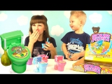 Candy Toilet with Sour Flush  Едим конфетки туалеты