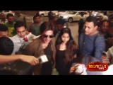 Shahrukh Khan Spotted At Airport, Leave For Europe For Imtiaz Alis Film Shoot