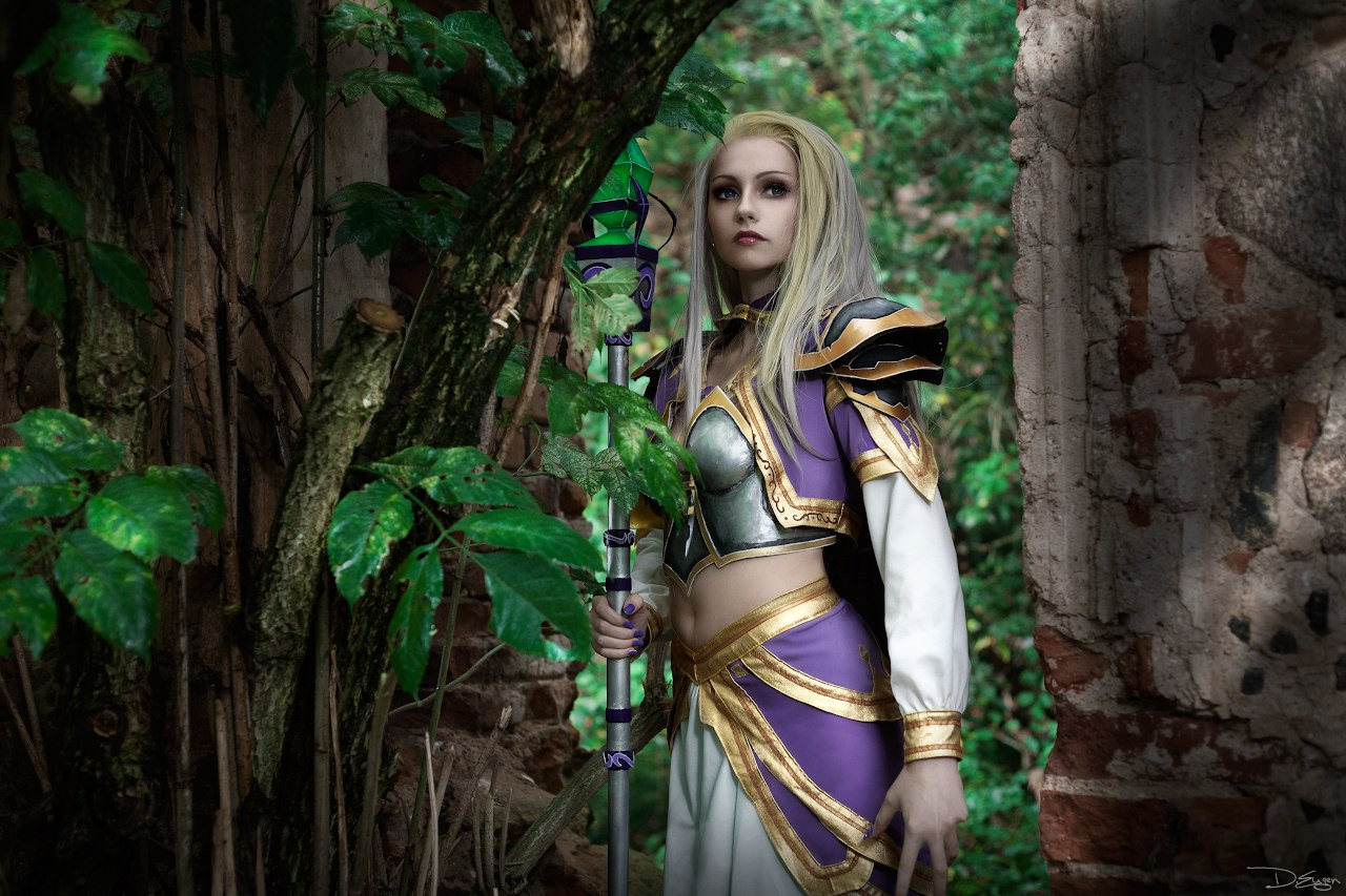 Jaina proudmoore the young sorceress in warcraft  hentai gallery