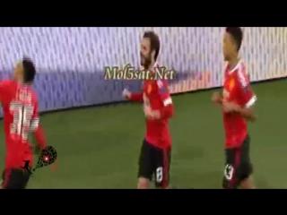 ملخص مباراة فولفسبورغ ومانشستر يونايتد 3-2 [الملخص كامل] دوري ابطال اوروبا 2016 [8-12-2015]