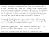 001 The Hound of the Baskervilles by Sir Arthur Conan Doyle Chapter 1