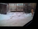 г. Владимир п.Боголюбово. Голый мужик решил сходить зимой до ларька