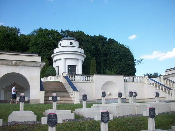 Польские захоронения