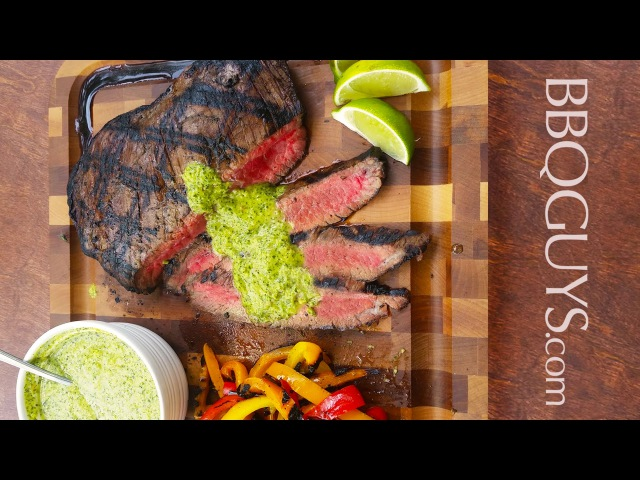 How to Grill Brazilian Steak with Chimichurri : Recipe on a DCS Gas Grill - BBQGuys.com