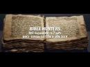 BBC В поисках библейской истины 2014 1 серия
