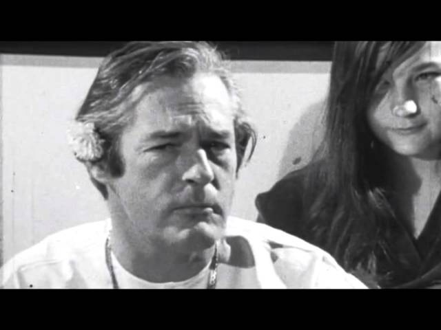 Timothy Leary - Turn on, tune in, drop out.