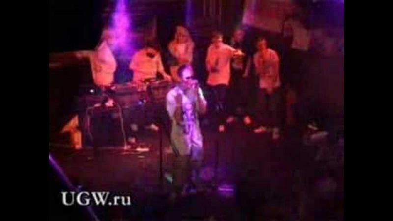 "Молодой (F.Y.P.M.) ""Русский шуганайт"" live @ Ikra 09.08.2007"